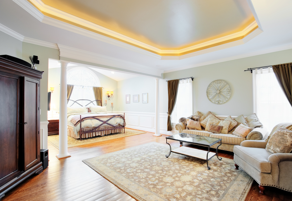 Coved ceiling lights
