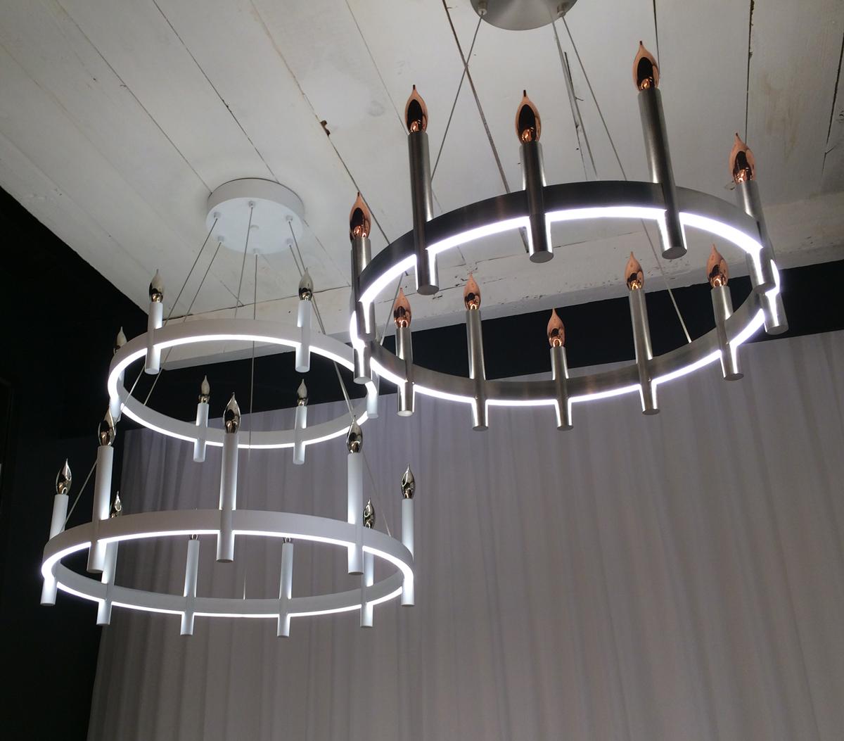 Tech Lighting Fiama LED chandelier