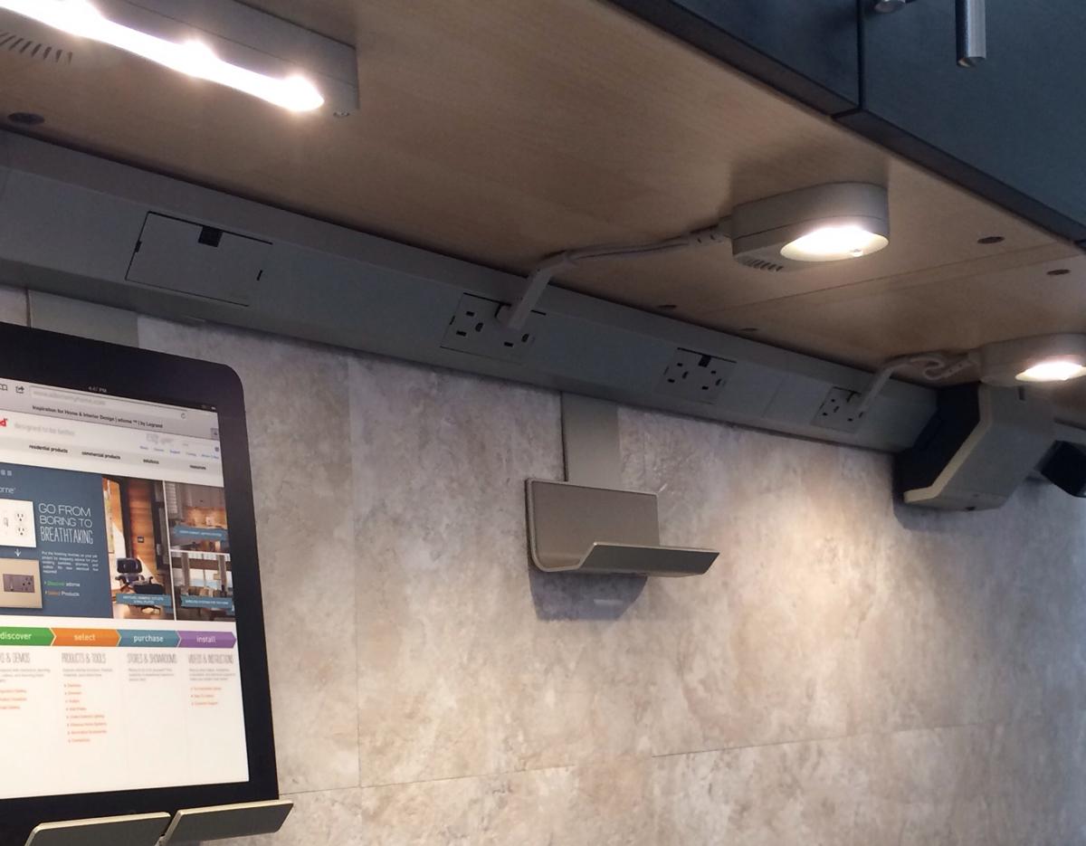 Legrand undercabinet lighting system