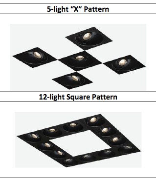 Configure the Tech Lighting Element Merge LED Lights to fit your needs