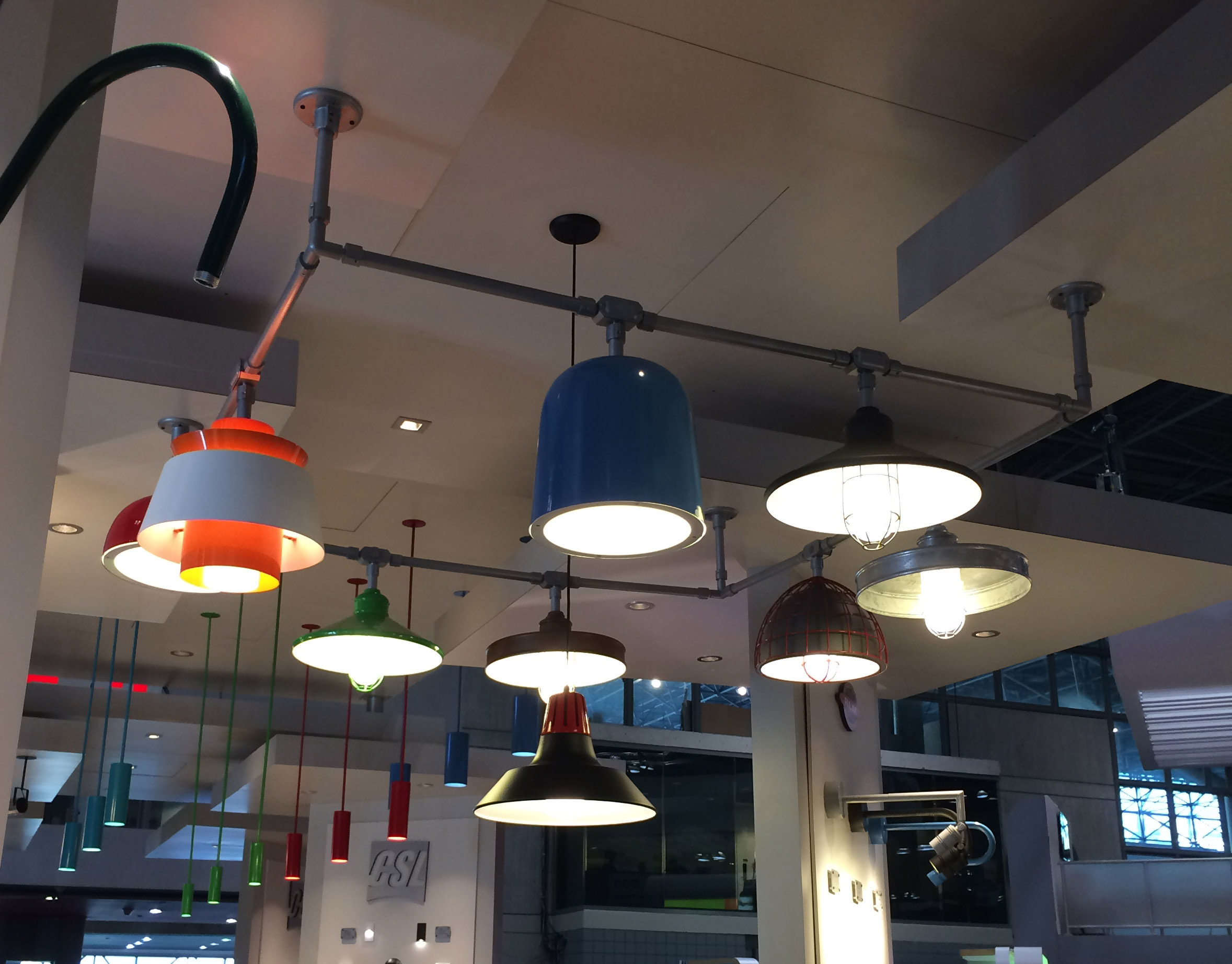 Troy Lighting RLM Structure at Lightfair