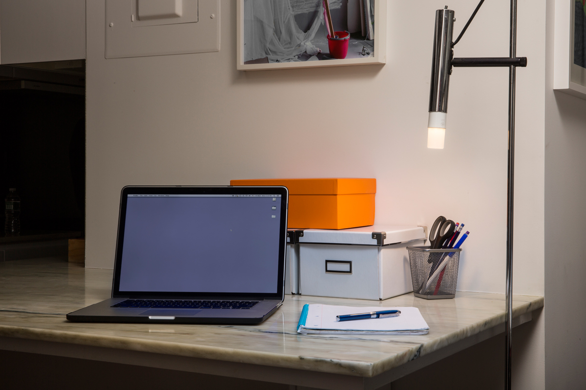 GE Bright-Stik LED lamp works well in a Desk-Lamp