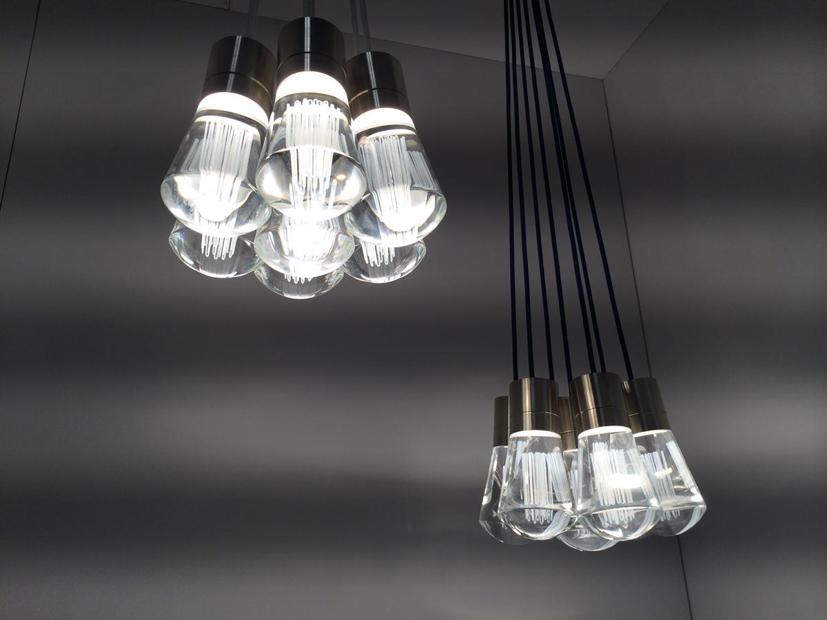 Tech Lighting Alva LED pendant cluster