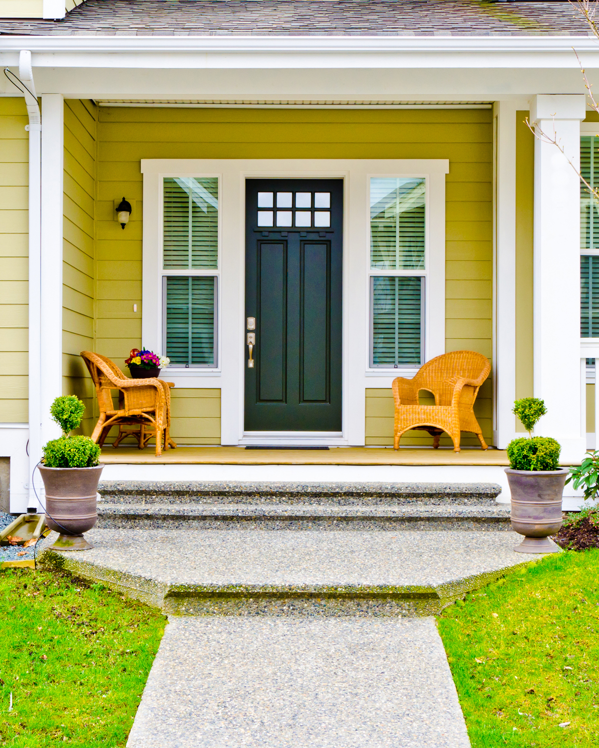Yellow-Front-Porch