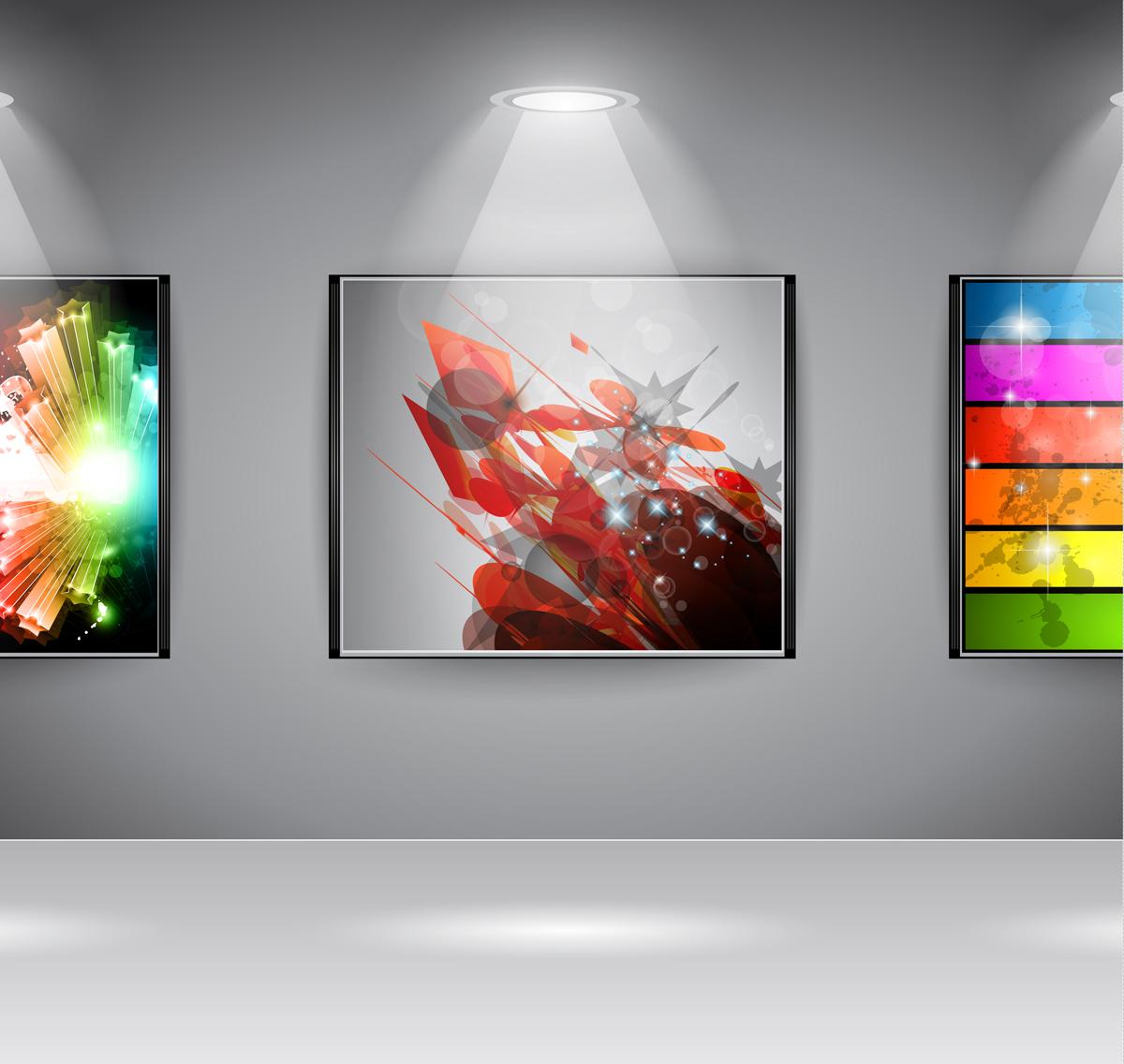Accent lighting adds drama