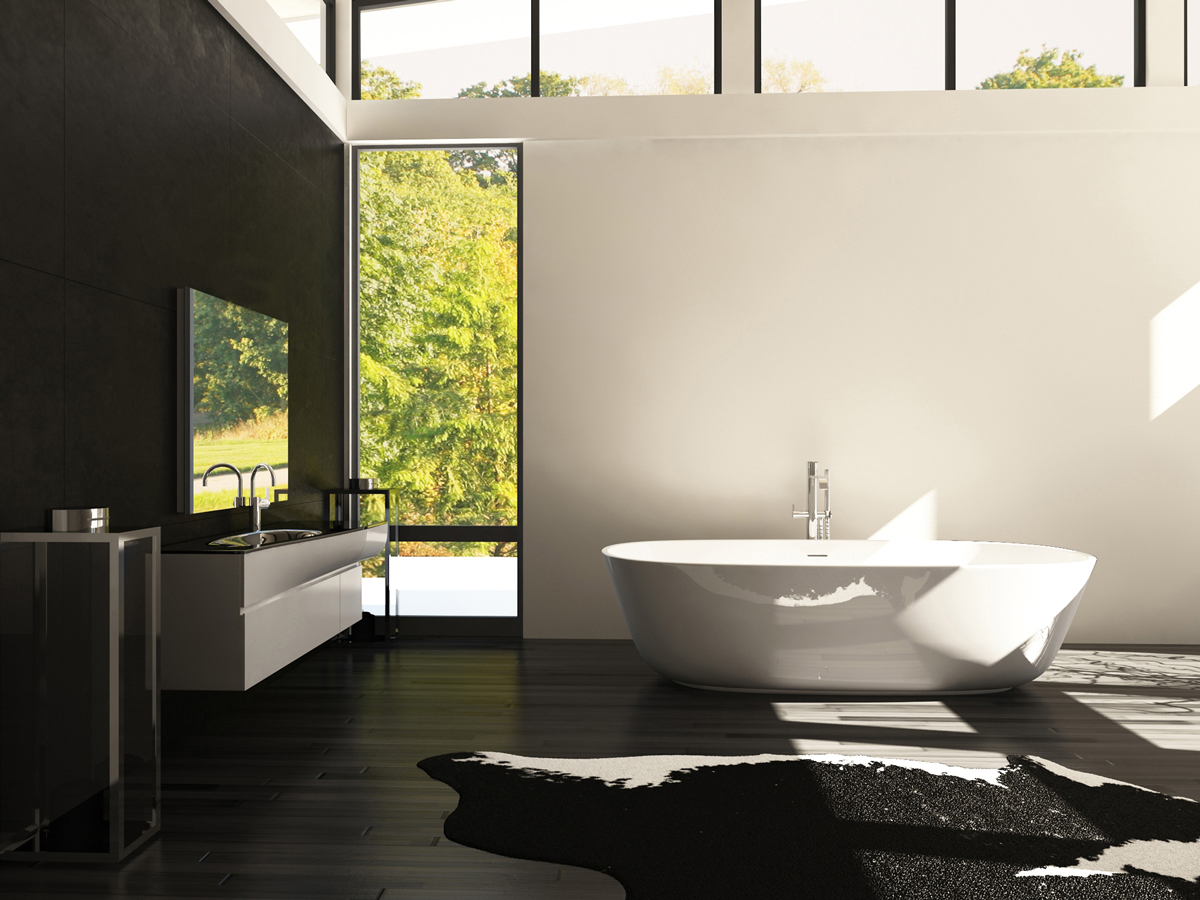 Modern-Bathroom-without-Lights