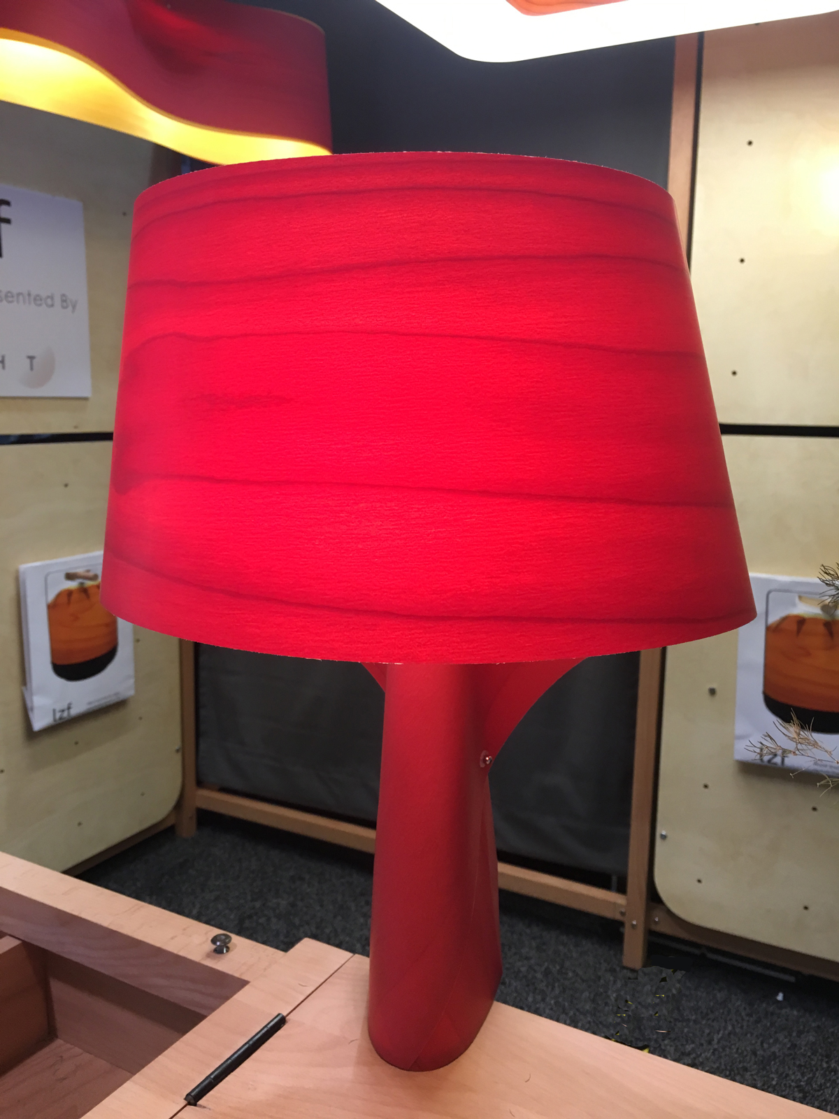 LZF Lamps Air table lamp at LightShow West 2015