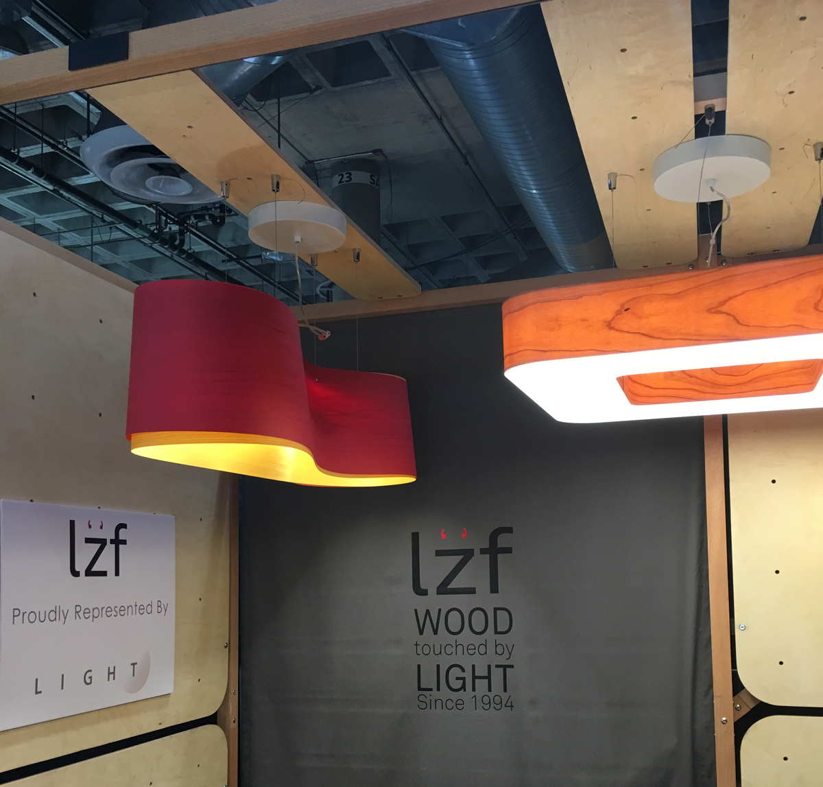Lzf Lamps:  New Wave designed by Ray Power and Cuat by Burkhard Dammer