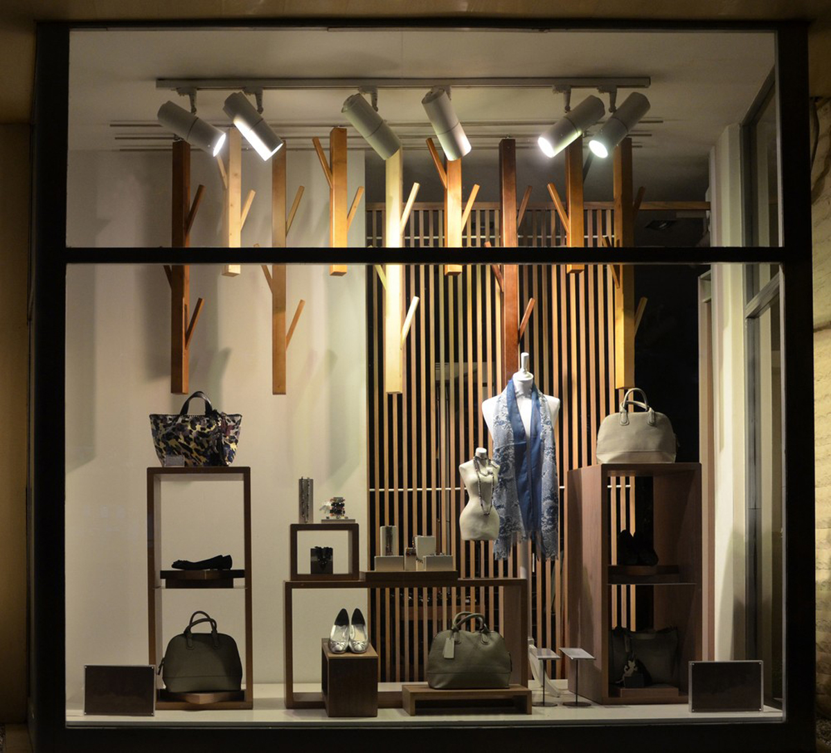 lighting sets the stage for your shopping experience
