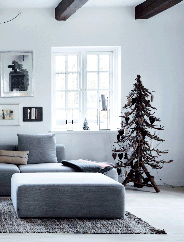 A Christmas tree  with a difference   via femina.dk