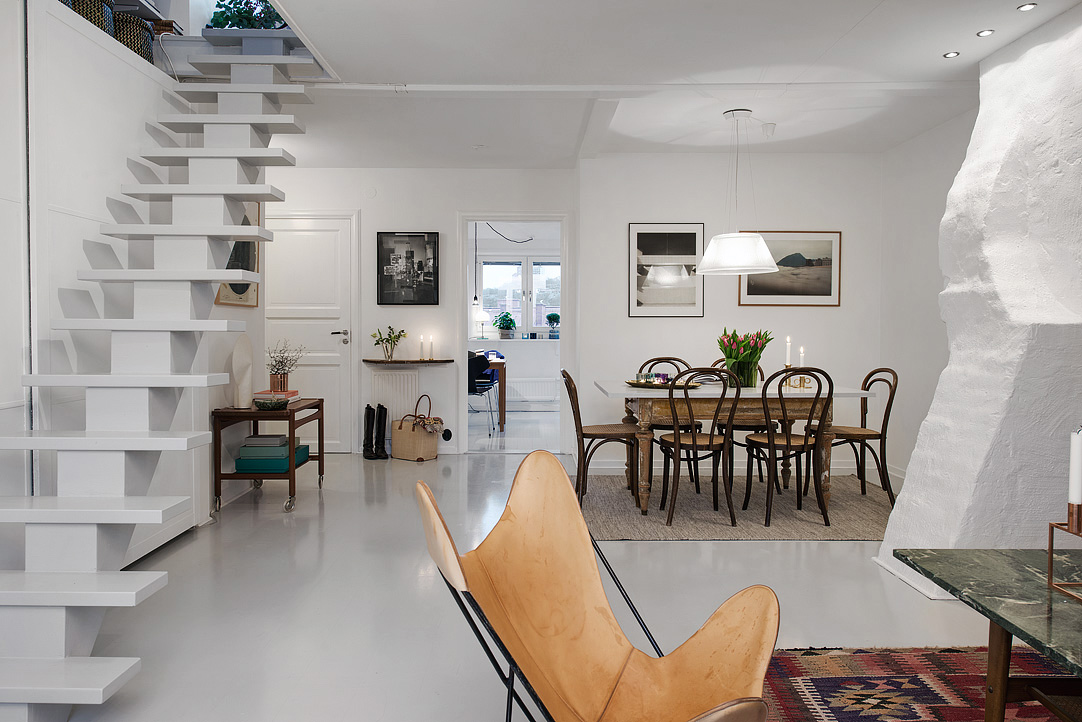 via alvhemmakleri.se, a Swedish realty and staging company with an inspiring  knack for interior design