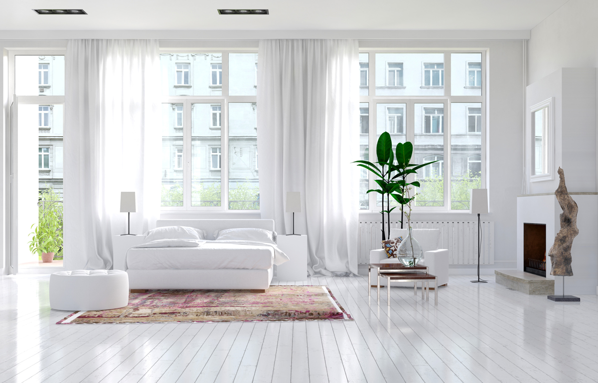 Beautiful space with lots of natural light - but what about nights?