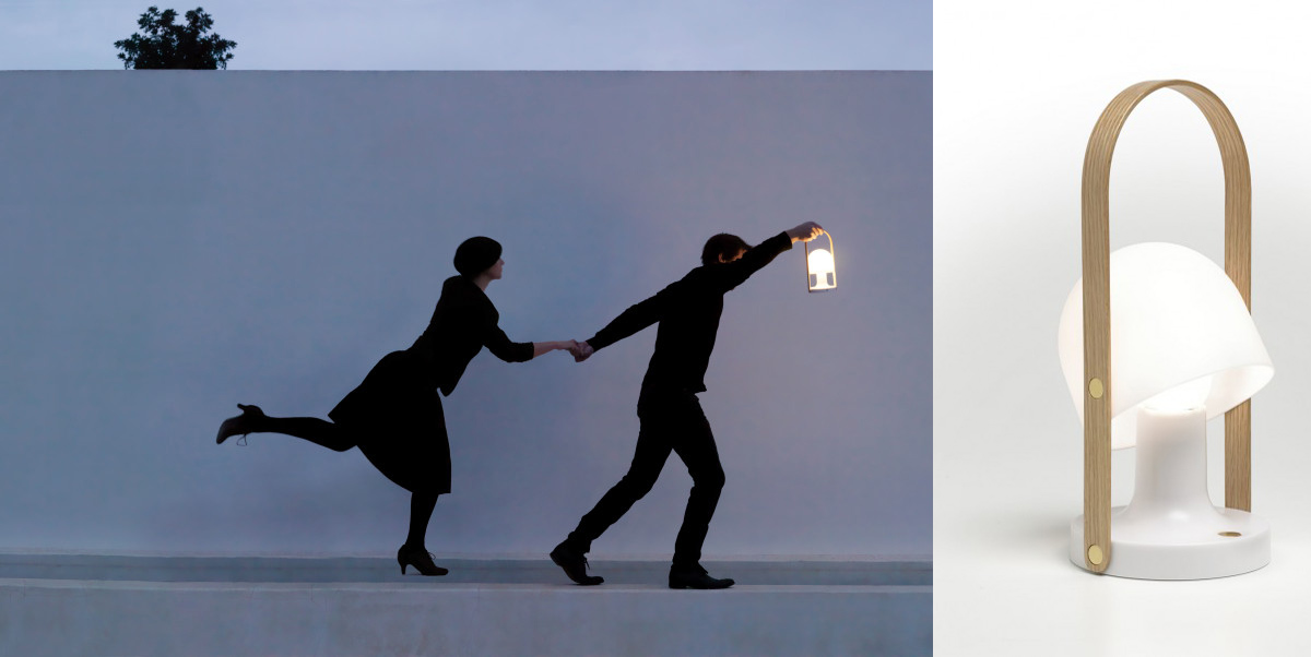 FollowMe LED portable light from Marset