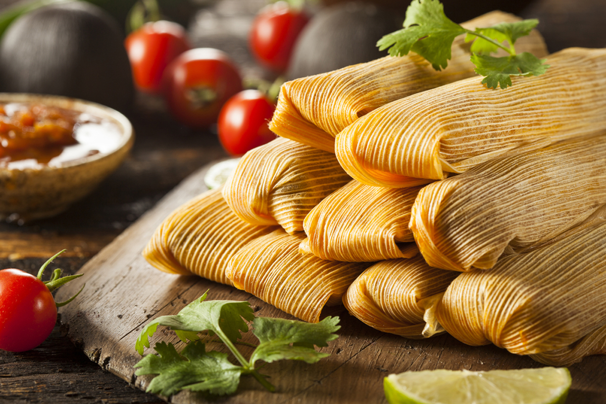 No Holidays in New Mexico without tamales