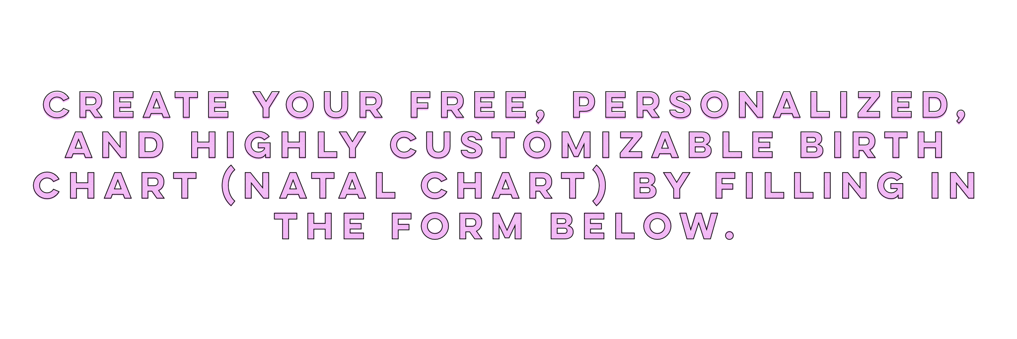 Create Free Birth Chart