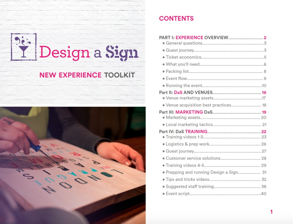 Design a Sign Toolkit Cover