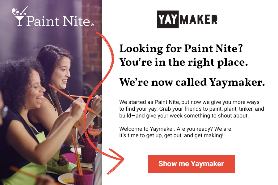 Paintnite.com redirect modal