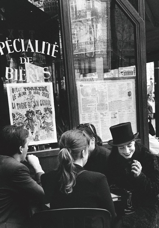 Le pierrot de la république, Paris 2001