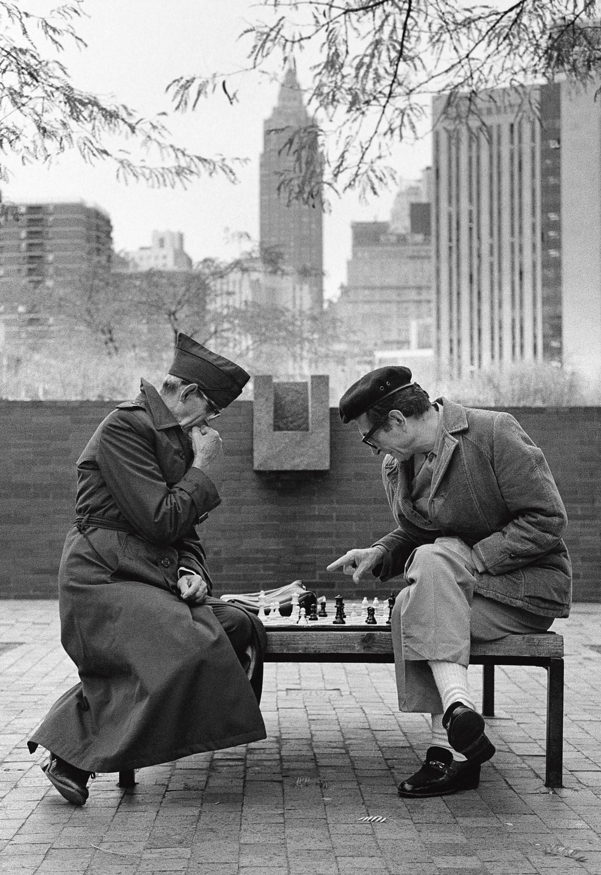 Les joueurs d'échecs, New York 1982