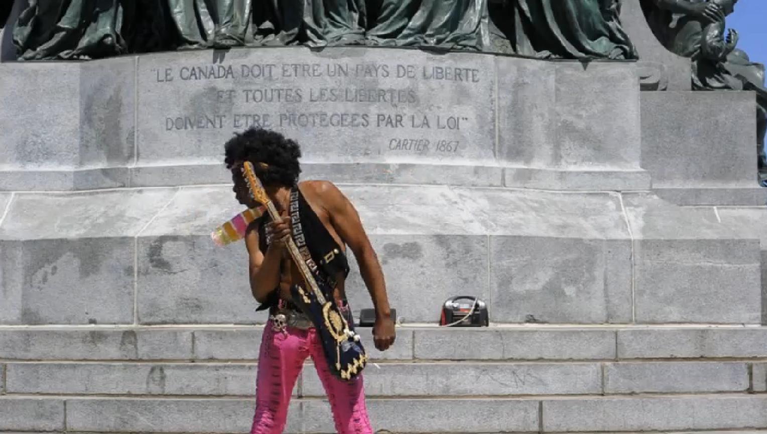 Pastiche de Jimmy Hendrix