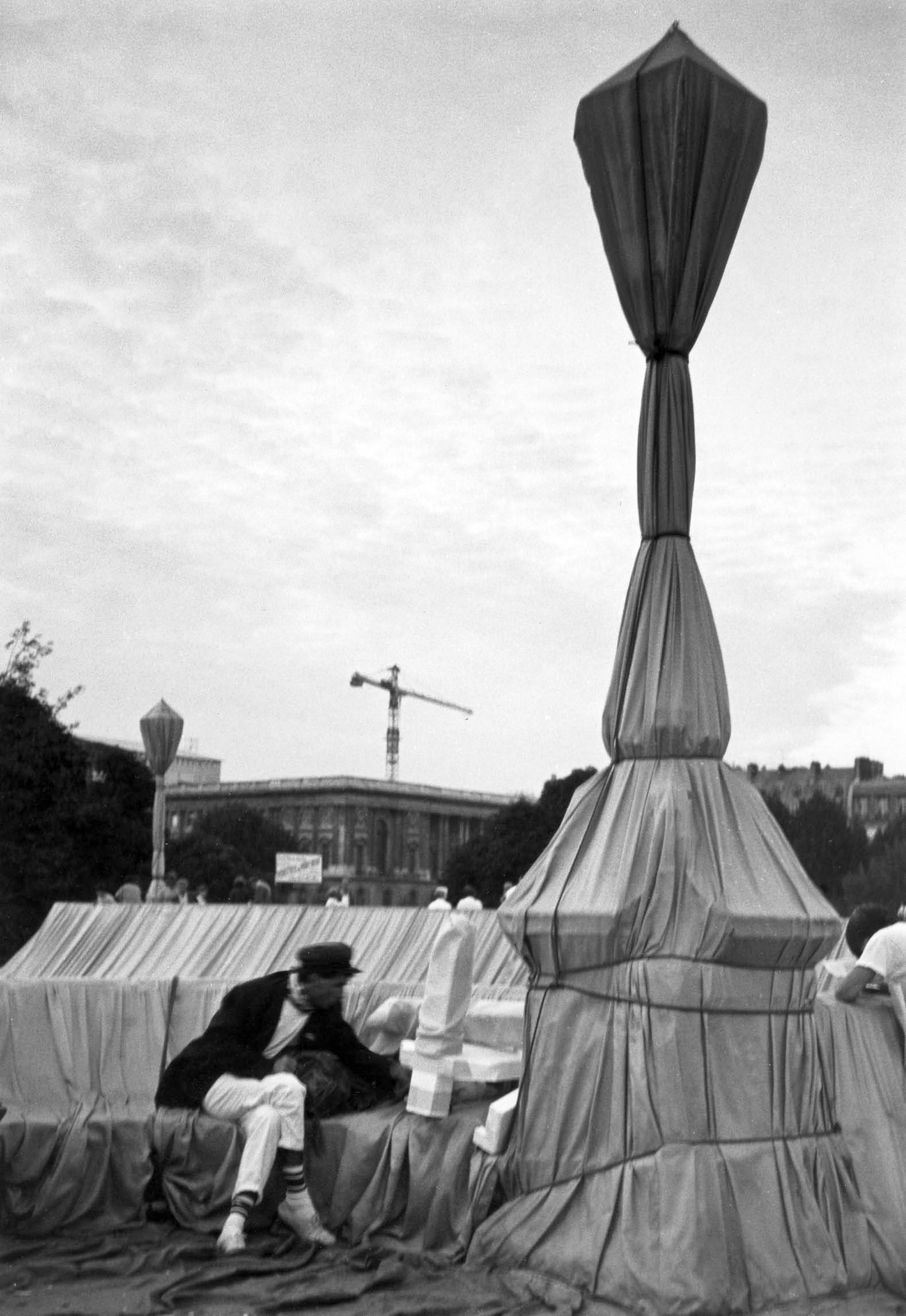 Le pont Neuf, Paris 1985