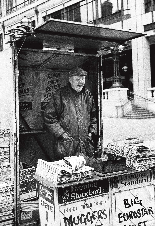 Le marchand de la City, Londres 1997