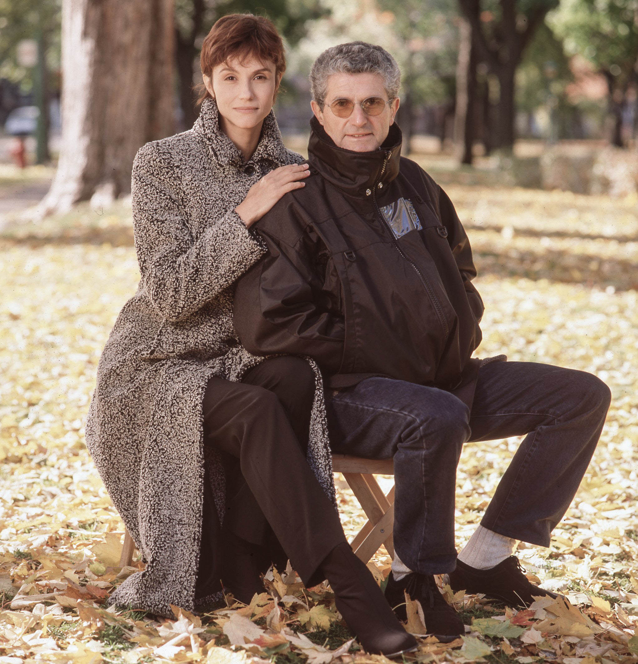 A. Martines et Claude Lelouch
