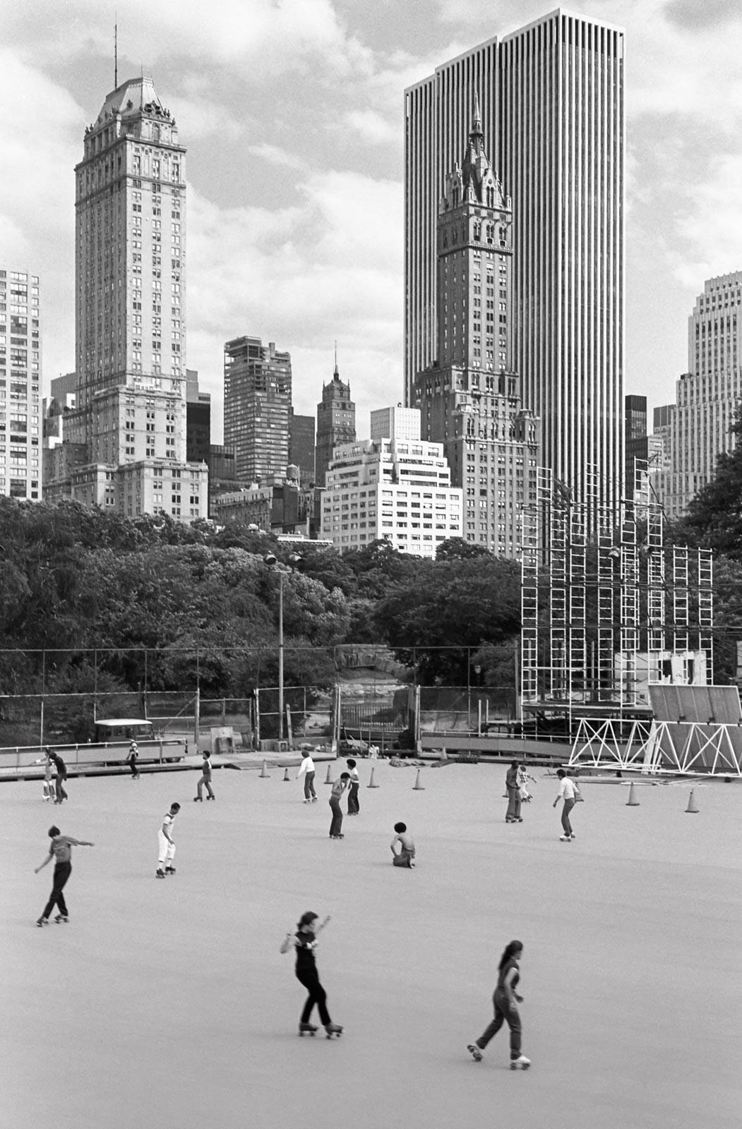 Central park, New York 1982