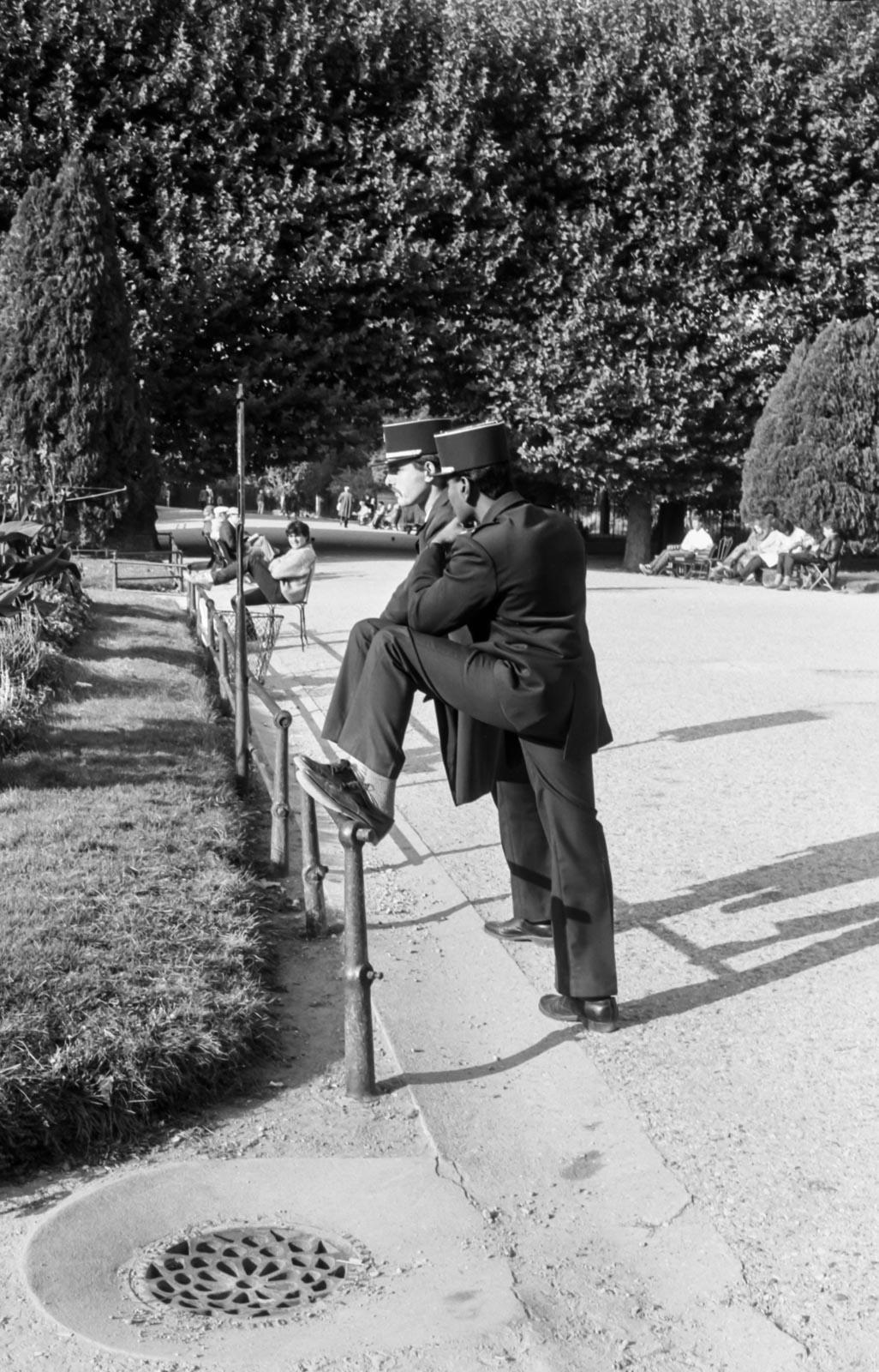 La pause, Paris 1988