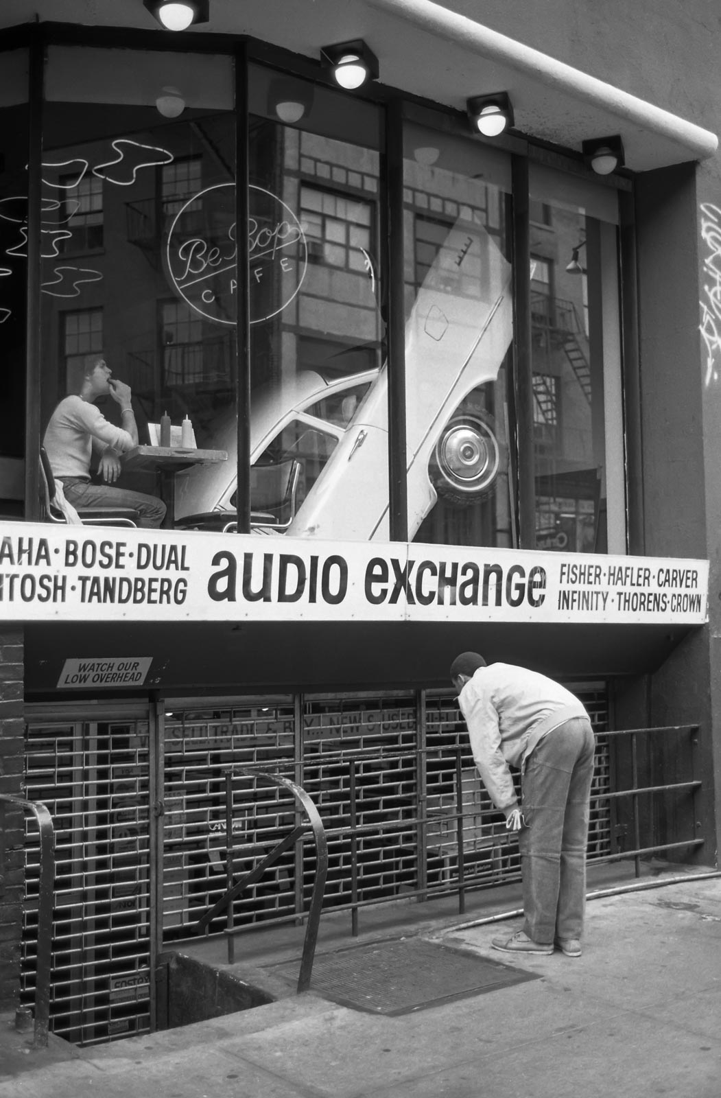 Audio exchange New York 1985