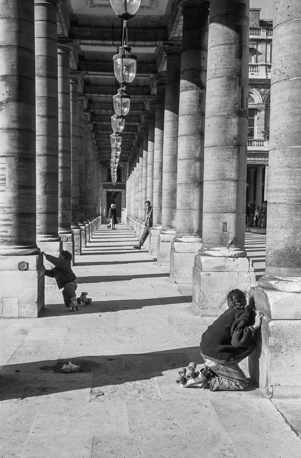Patins au Palais, Paris 1988