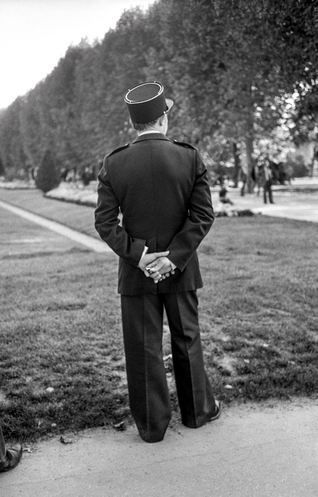 Gendarme au sifflet, Paris 1980