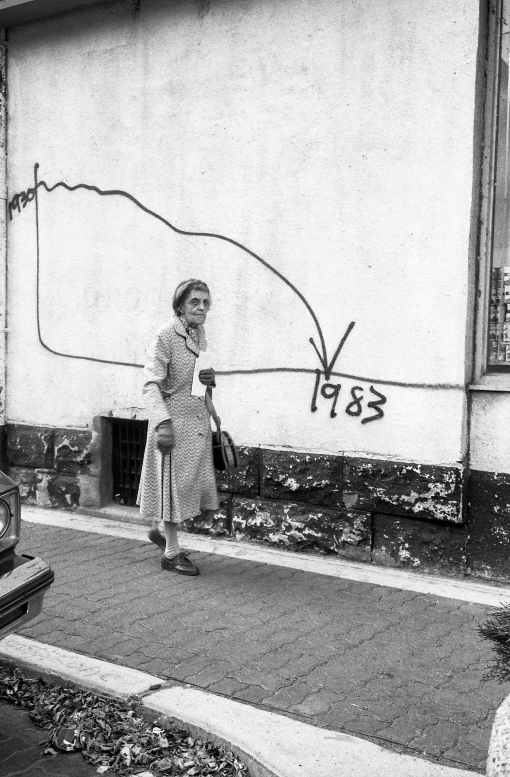 La courbe de vie, Montréal 1983