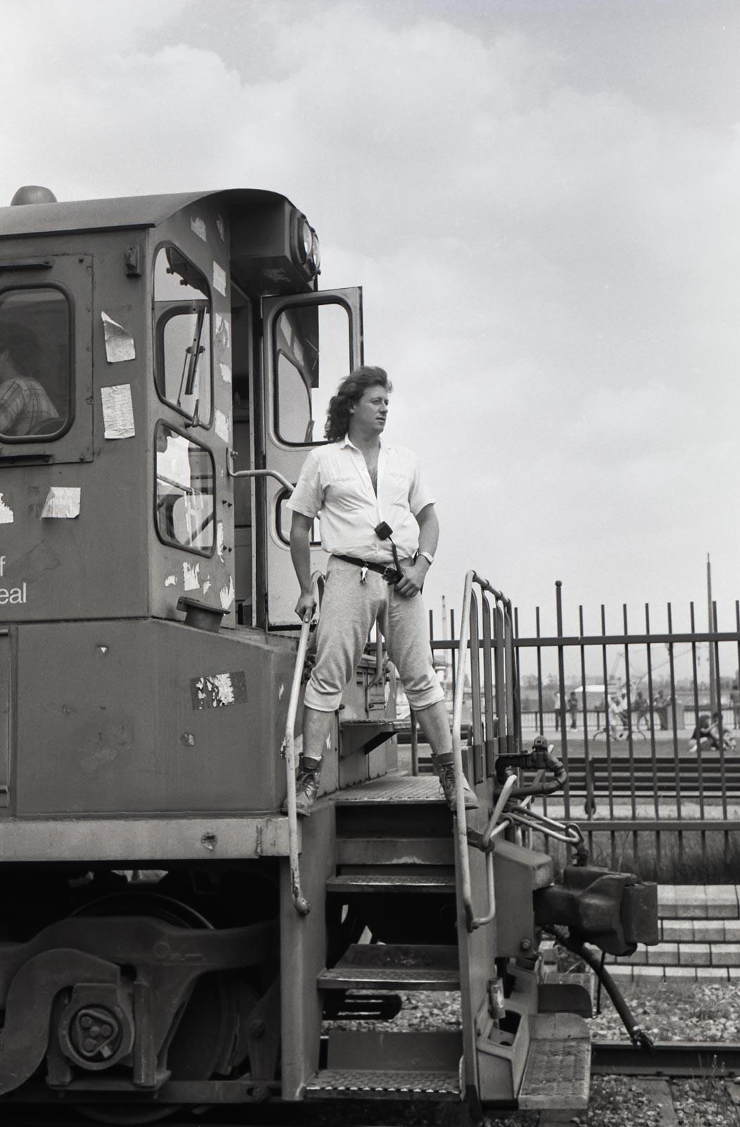 Le cheminot, Montréal 1988
