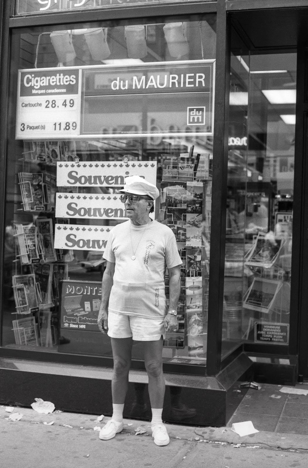 Souvenirs, Montréal 1987