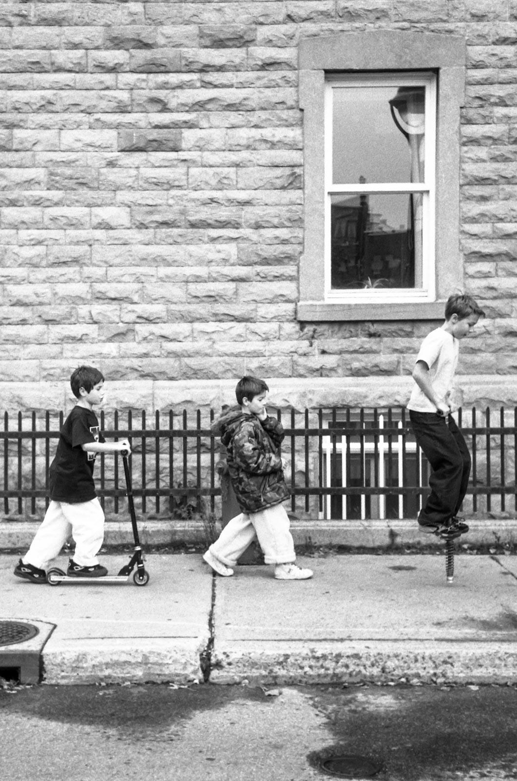 Les trois copains, Montréal 2005