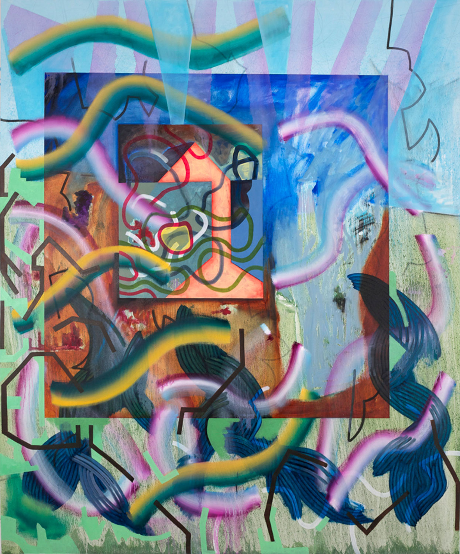 76x60 oil on canvas