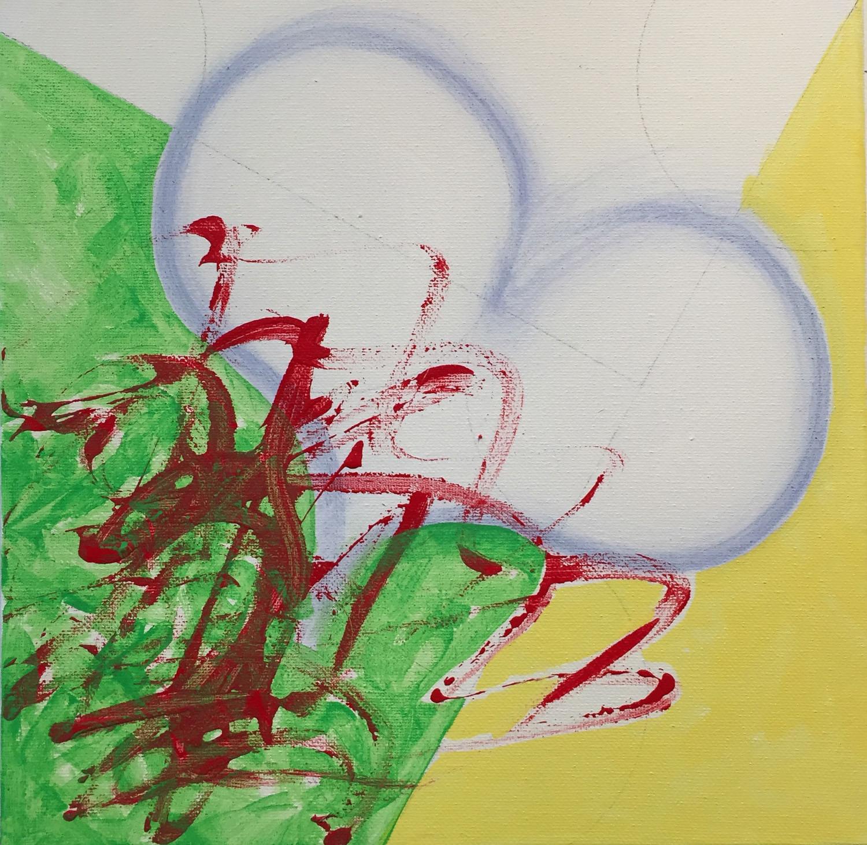 acrylic on canvas, 12x12, 2015