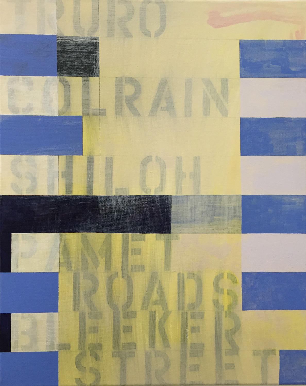 acrylic on canvas, 20x16, 2015