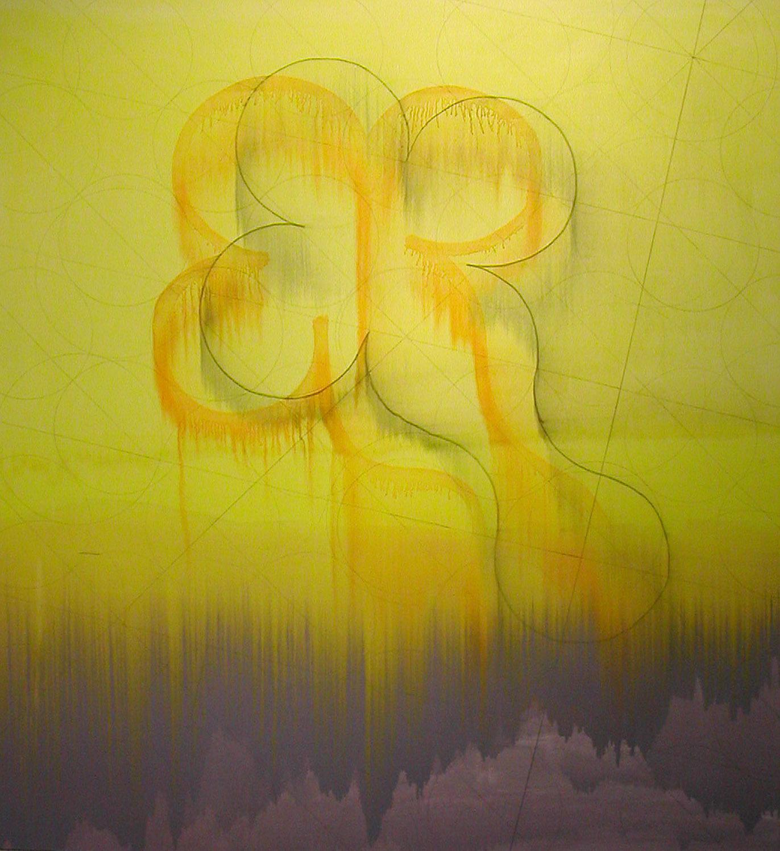 "Was a Boy , 2003, oil on canvas, 74"" x 68"""