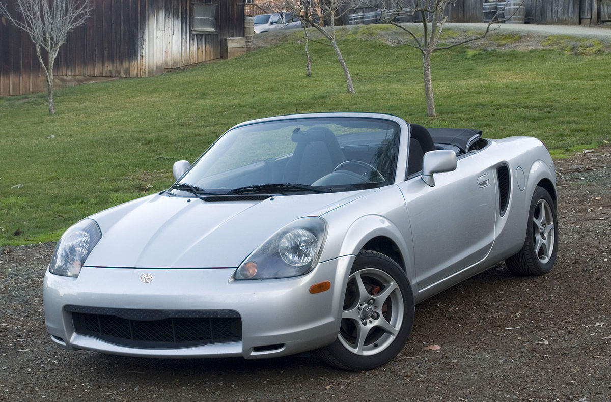 The last generation MR2 was discontinued in 2007.                                                    Photo by Daniel J. Leivick.
