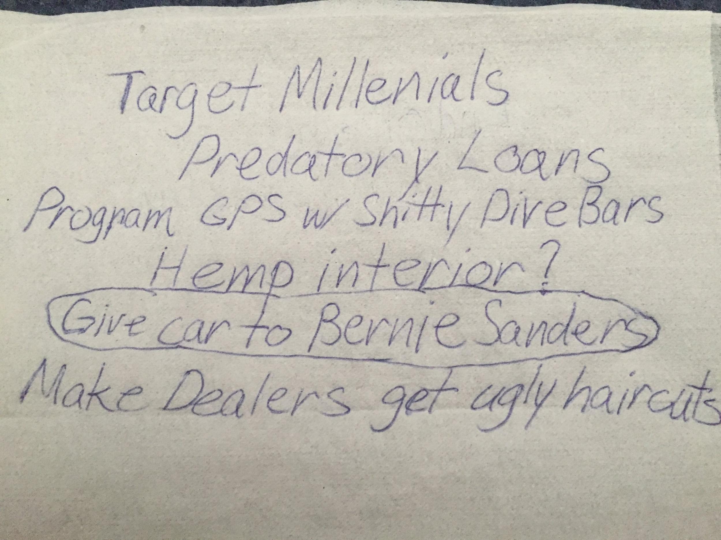 Bernie Sanders has huge sway over millennial mindshare, as he is basically their God.