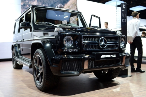2012 G 63 AMG, parked in someone's office?                       Photo by Milhouse35
