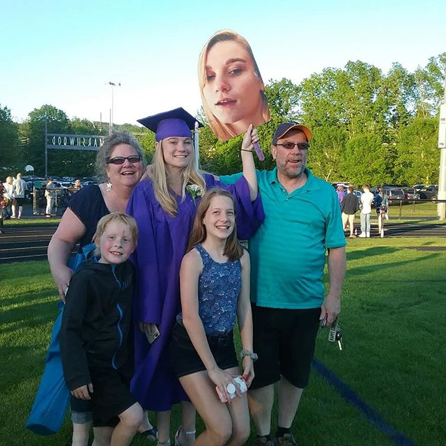 On to the next green! So proud of my beautiful niece. Love to all my fam.