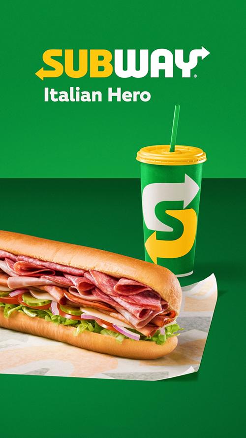 subway italian heroes
