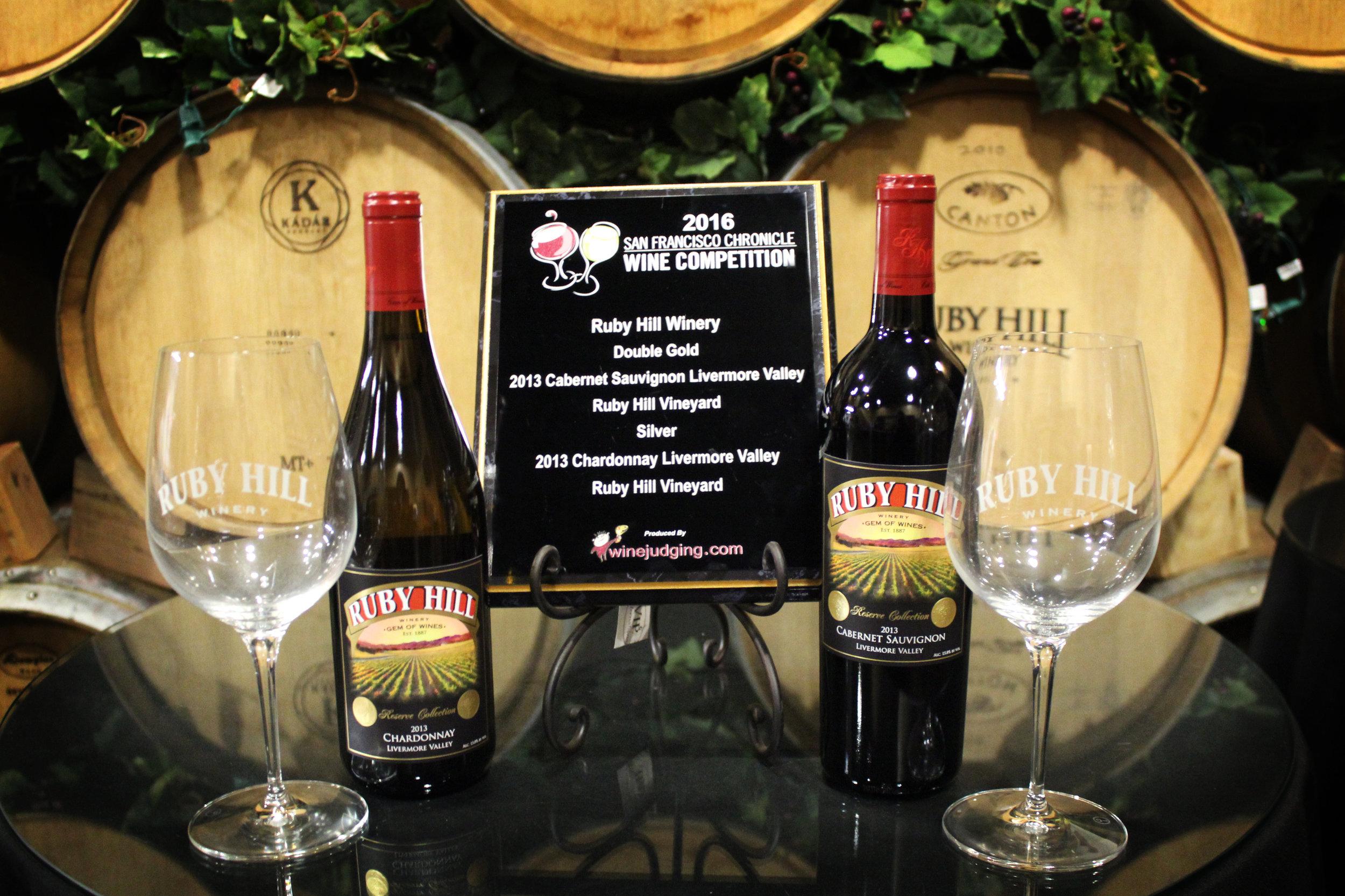 Ruby Hill Award Winning wines 2.jpg