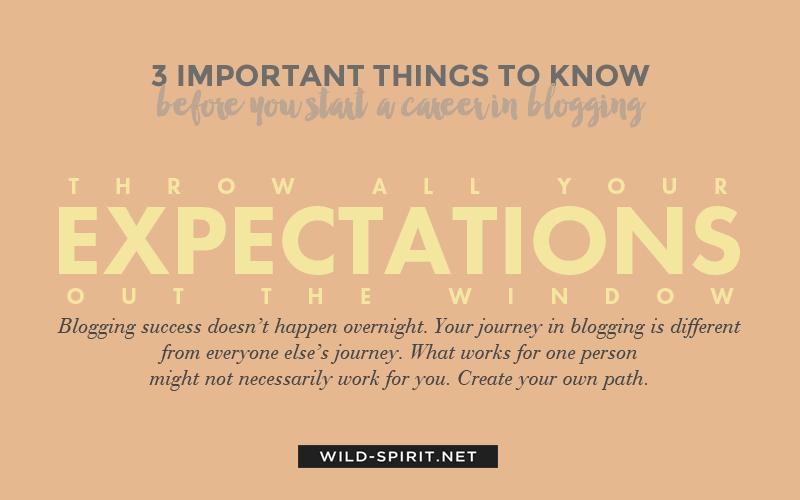 career in blogging tip 3