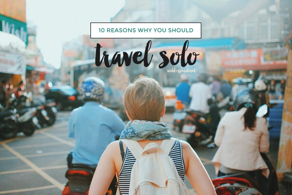 travel solo
