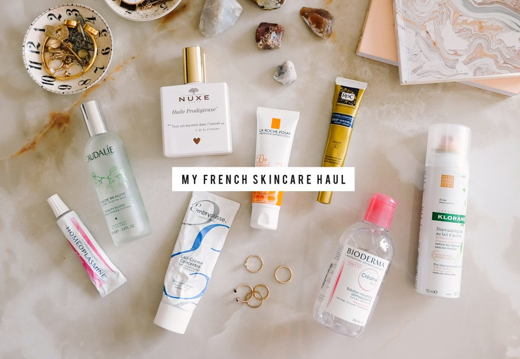 french skincare haul cover2