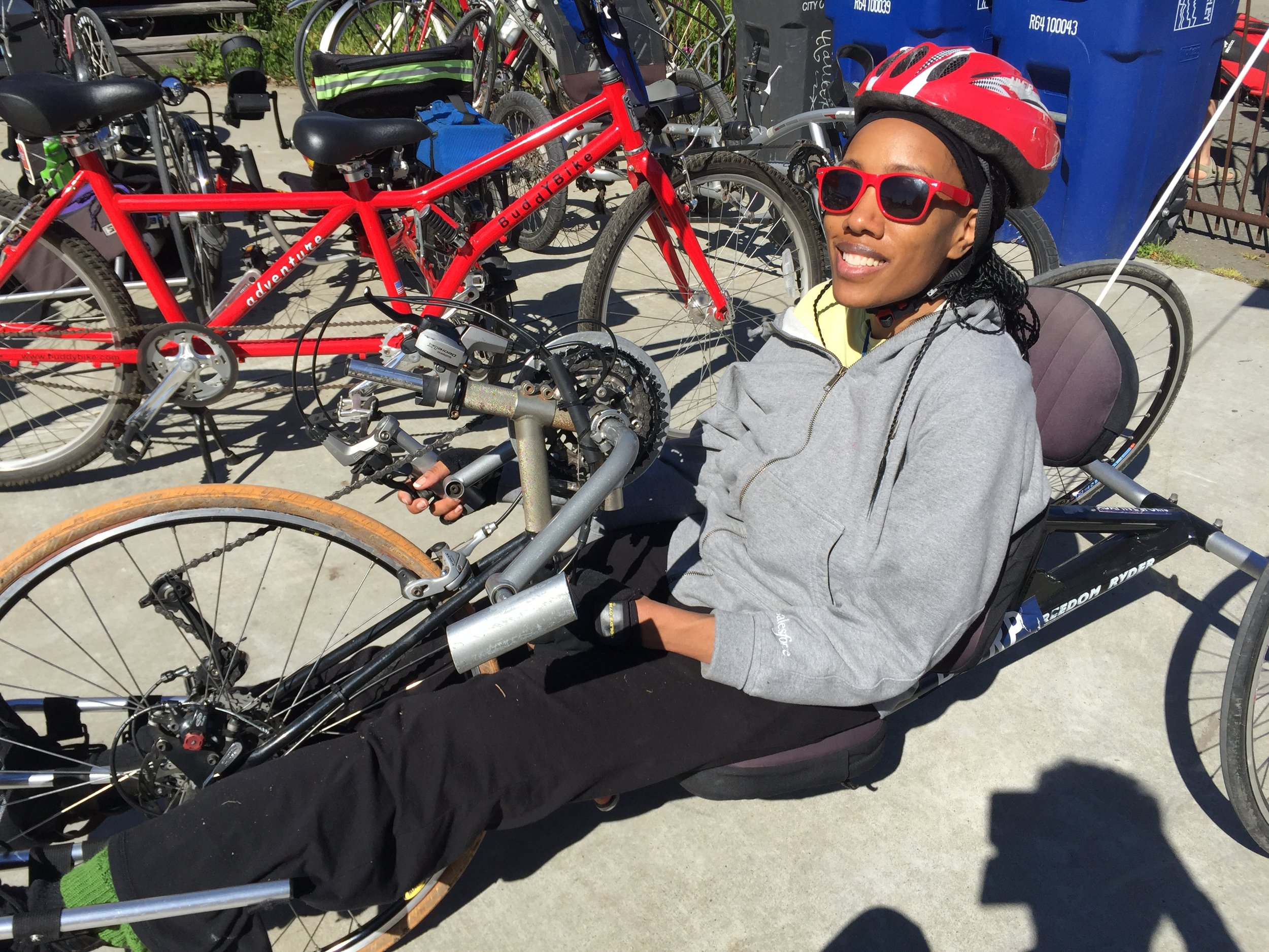 Our Mission - To enhance independence and build community through outdoor adaptive cycling.